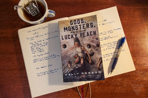 Gods, Monsters, and the Lucky Peach is a time-travel adventure full to the brim with ideas