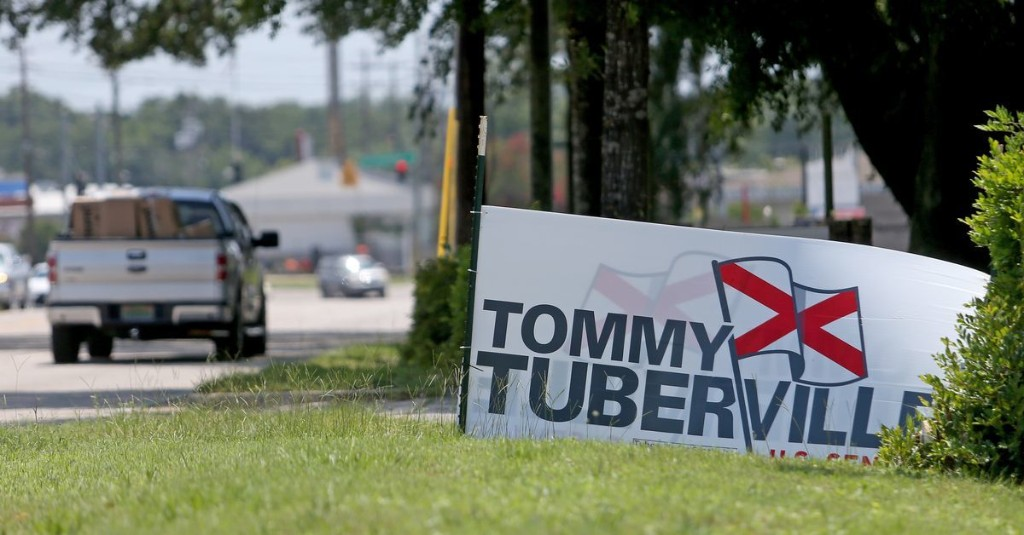 Former Auburn football coach and Trump favorite Tommy Tuberville wins the Alabama GOP Senate primary