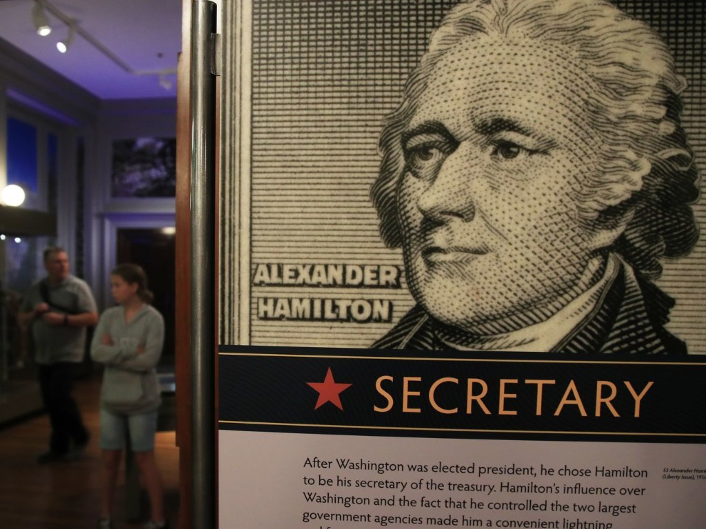 Letter: Alexander Hamilton may provide a window into 2020