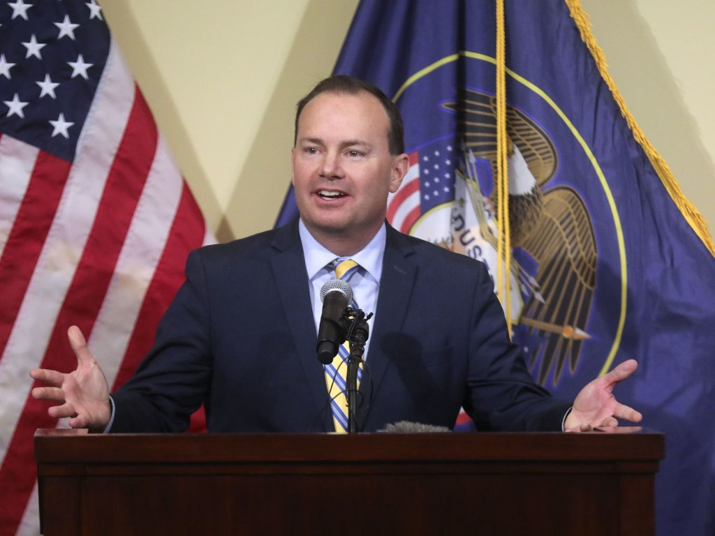 When Sen. Mike Lee tweeted 'We're not a democracy,' Twitter became the battleground for the republic