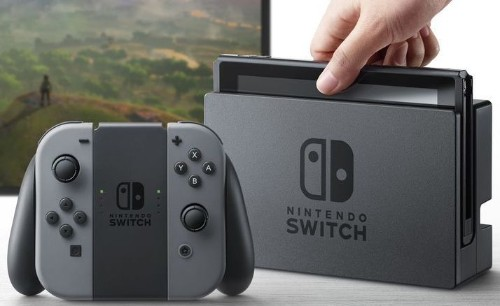 The Nintendo Switch dock is only for charging and TV output