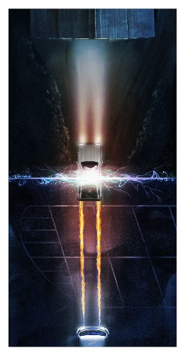 These Back to the Future posters show time travel in an instant