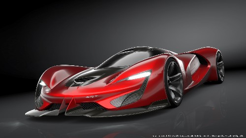 Here is the ridiculous 2,590-horsepower SRT Tomahawk hypercar, coming in 2035