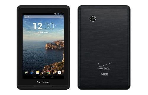 Verizon announces its own 7-inch Android tablet, the first product in the 'Ellipsis family'