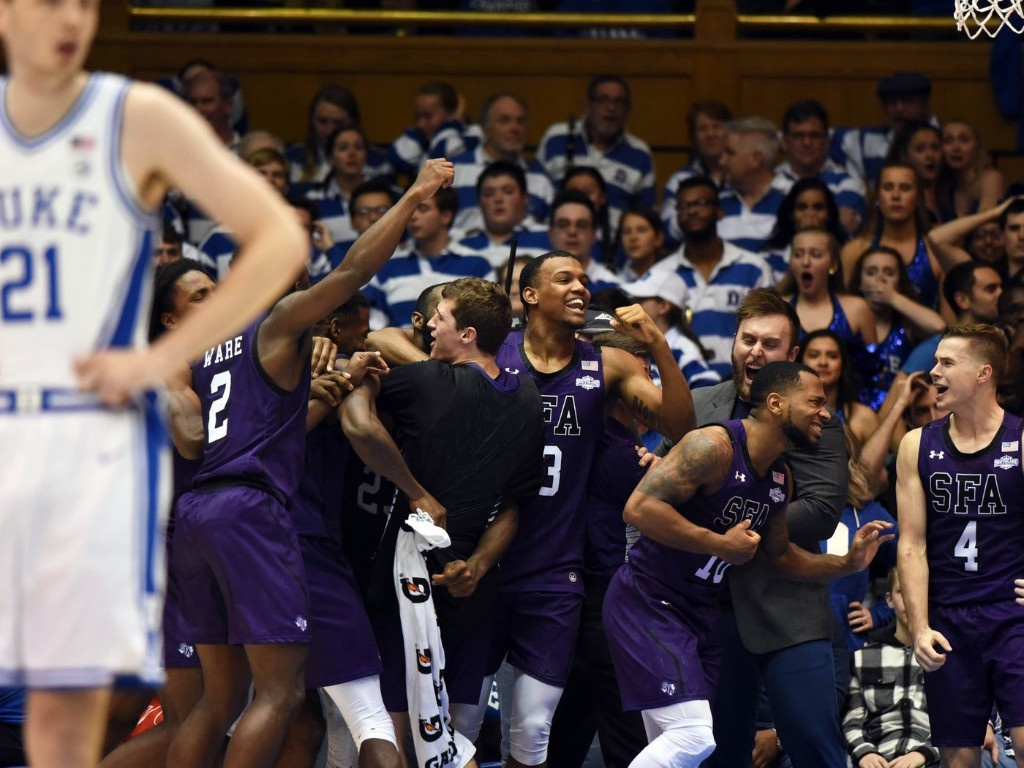 ICYMI: Duke Upset; Big Football Weekend Ahead