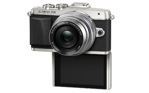 The Olympus PEN E-PL7 is a Micro Four Thirds camera for selfie addicts