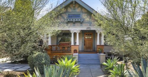 Dreamy Jefferson Park Craftsman with original woodwork seeks $965K