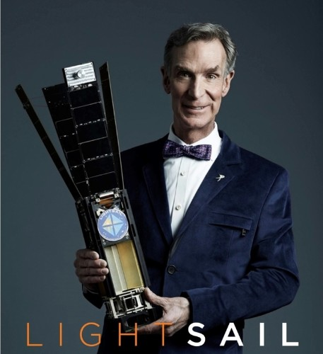 Bill Nye launches Kickstarter to fund the LightSail solar spacecraft