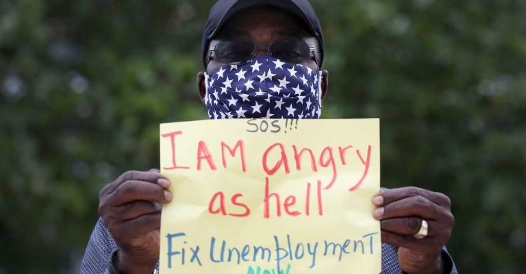 The unemployment rate improved in May, but left black workers behind