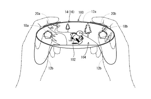 Wild Nintendo patent filing shows game controller made out of a screen