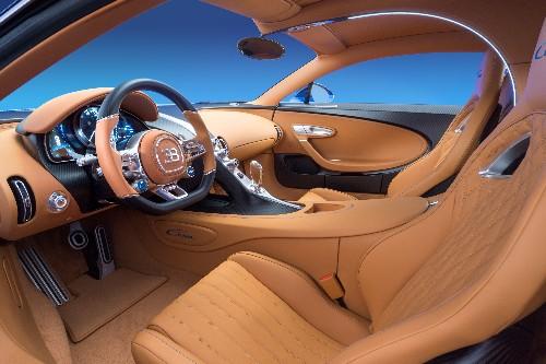 Bugatti's $2.6 million supercar has diamonds in the speakers