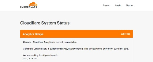 DownDetector down as another Cloudflare outage affects services across the web
