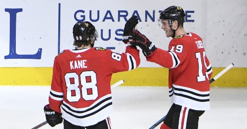 Jeremy Colliton wise to reserve Jonathan Toews-Patrick Kane nuclear line for desperate times