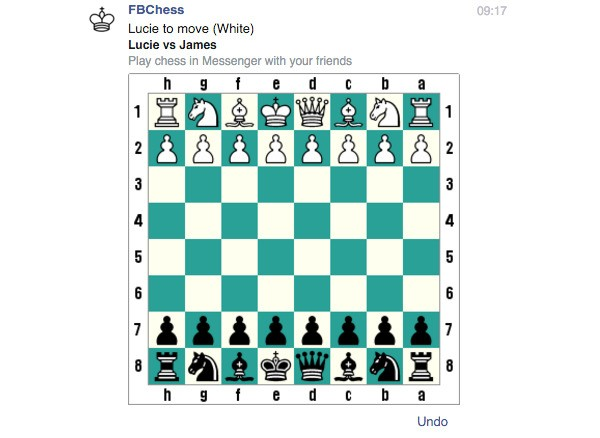 Here's how to play Facebook Messenger's secret chess game