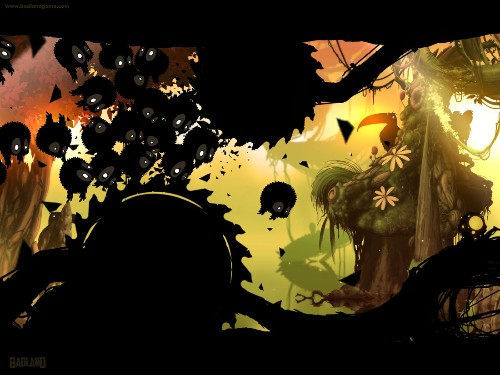Twisted iOS hit 'Badland' now on Android