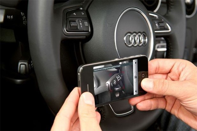 Audi's iPhone app uses camera to help owners find the dipstick