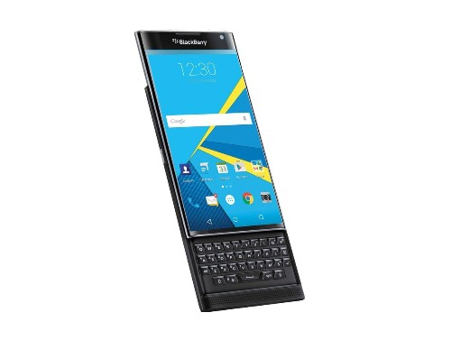 BlackBerry's Android slider phone is called the Priv and will be available this year