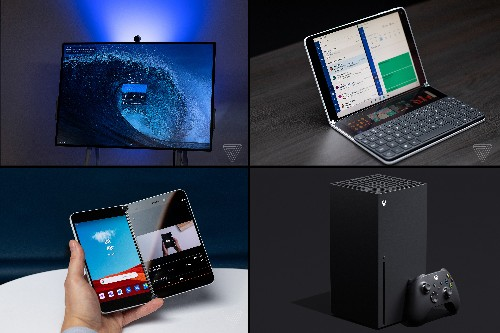 Microsoft has a big year of hardware for 2020