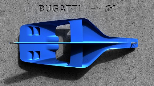 Bugatti is making a car for Gran Turismo that hints at its next real supercar