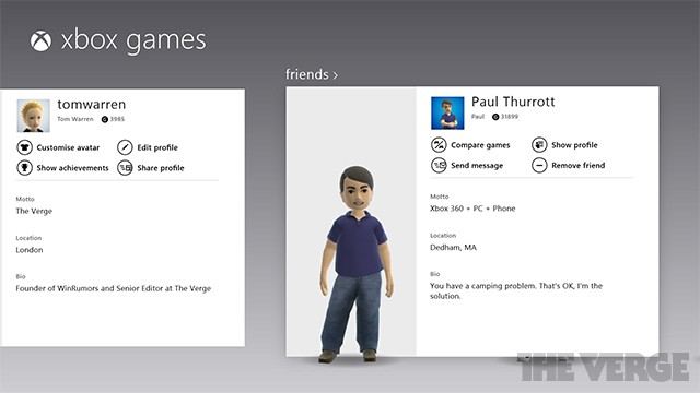 Windows 8 games app updated with Xbox Live messaging alongside SmartGlass improvements