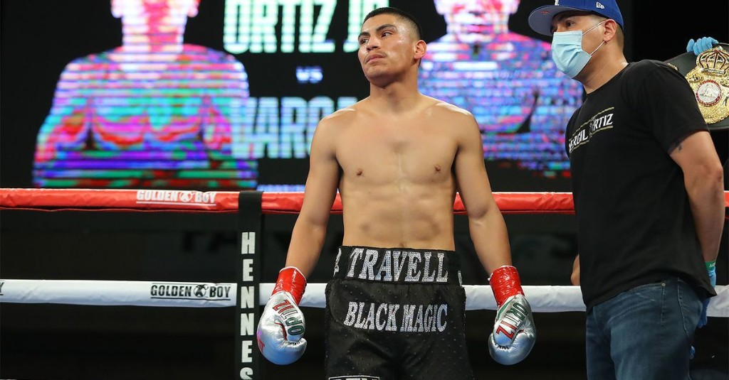 Vergil Ortiz Jr says he wants fight with Keith Thurman in 2021