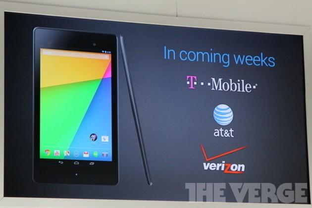 Verizon won't activate the Nexus 7 until Google delivers a KitKat update