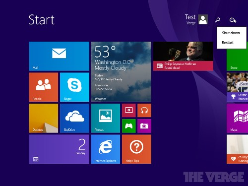Windows 8.1 Update 1 leaks on the web ahead of its March release