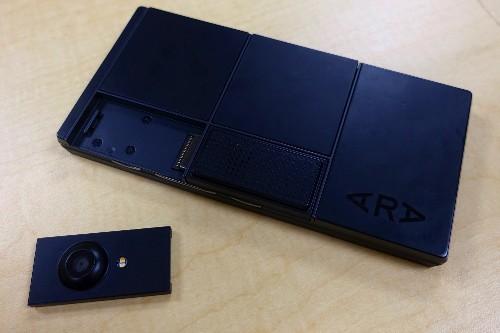 A closer look at Google's modular phone prototype