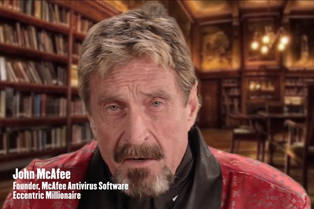Bath salts and booty: watch a drug-fueled John McAfee uninstall his antivirus software