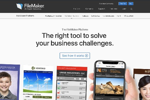 Apple subsidiary FileMaker returns to its original name from the '80s