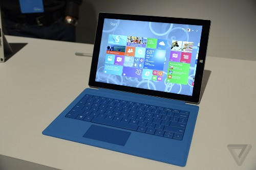 Microsoft Surface Pro 3 hands-on: bigger, thinner, faster