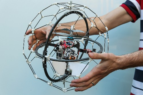 This bouncy ball drone wants to search and rescue without cutting off anyone's face by accident