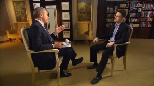 Watch last night's NBC interview with Edward Snowden