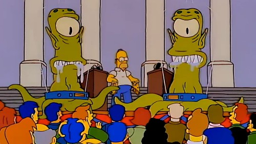 I voted Kodos: relishing the presidential politics of science fiction