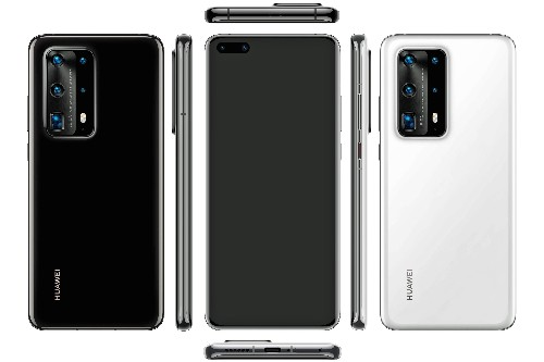 Huawei P40 Pro leak shows off five-camera bump and ceramic body