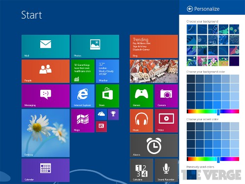 Windows Blue leaks online, includes smaller Live Tiles, new side-by-side Snap Views, and IE 11