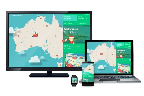 Google and Microsoft launch Santa trackers that let kids explore the globe