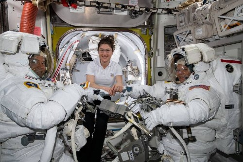 NASA is no longer planning to conduct its first all-women spacewalk this week