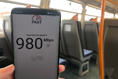 5G has arrived in the UK, and it's fast