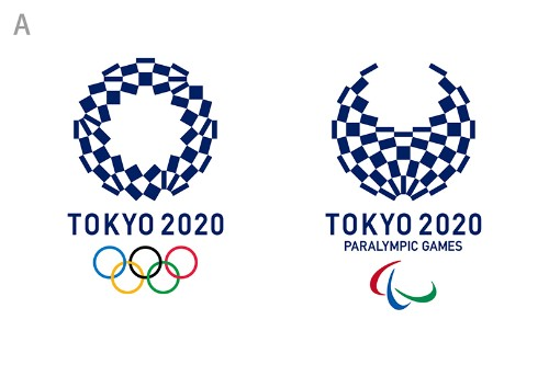 This is the new logo for the 2020 Olympics in Tokyo