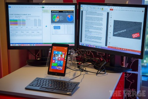 Lenovo's new ThinkPad 8 is the best Windows alternative to the iPad mini Retina