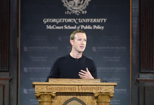 Mark Zuckerberg said a lot of nothing in his big speech