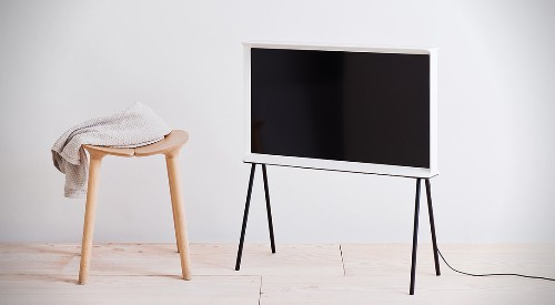 Samsung's polarizing Serif TV is now available in the US for $1,499
