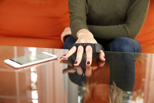 Tap Strap wearable keyboard uses gestures to type on any surface
