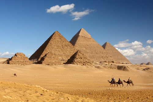 Engineer argues Egyptian pyramid decay is due to centuries of expansion