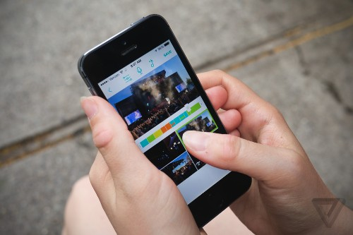 Fly is a simple video-editing app that lets you shoot from four iPhones at once