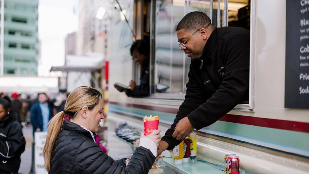 Food Trucks Roll Back Into Downtown Detroit on Friday