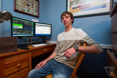 Don't try this: meet the high schooler who made $300K trading penny stocks under his desk