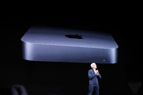 Apple's new Mac mini includes six-core processors and a space gray finish