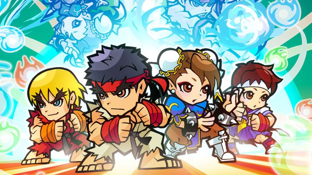 Capcom's new Street Fighter game borrows a few moves from Puzzle & Dragons